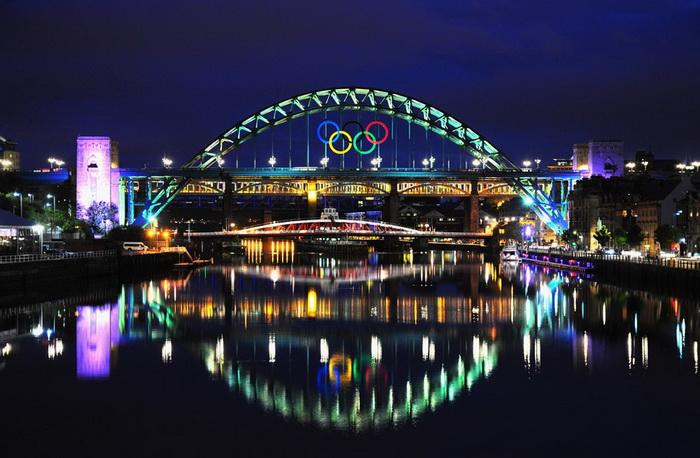 Ньюкасл-апон-Тайн готовится к встрече олимпийской эстафеты