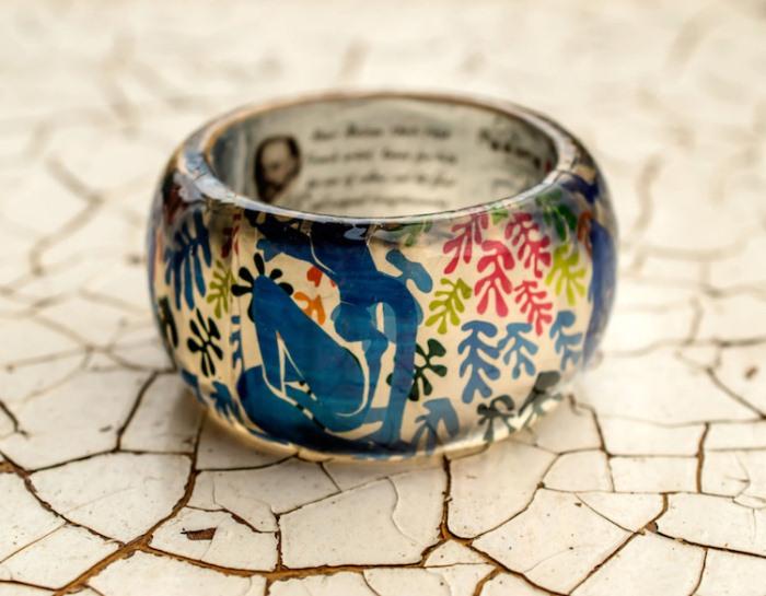 Оригинальный браслет по мотивам творчества Анри Матисса