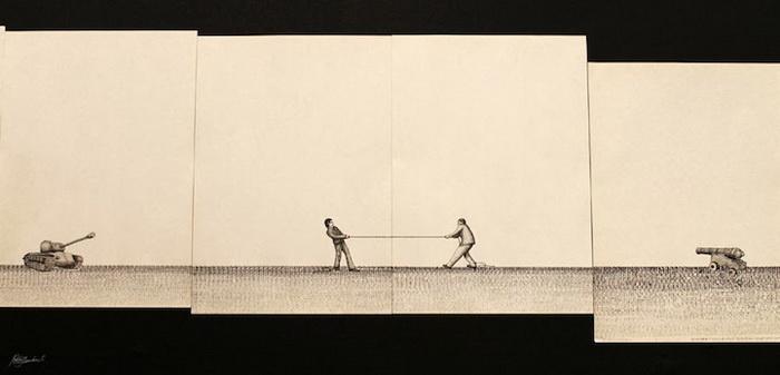 Серия Qwerty объединяет 300 рисунков