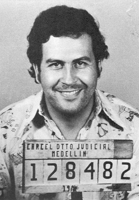 Пабло Эскобар - наркобарон и убийца.