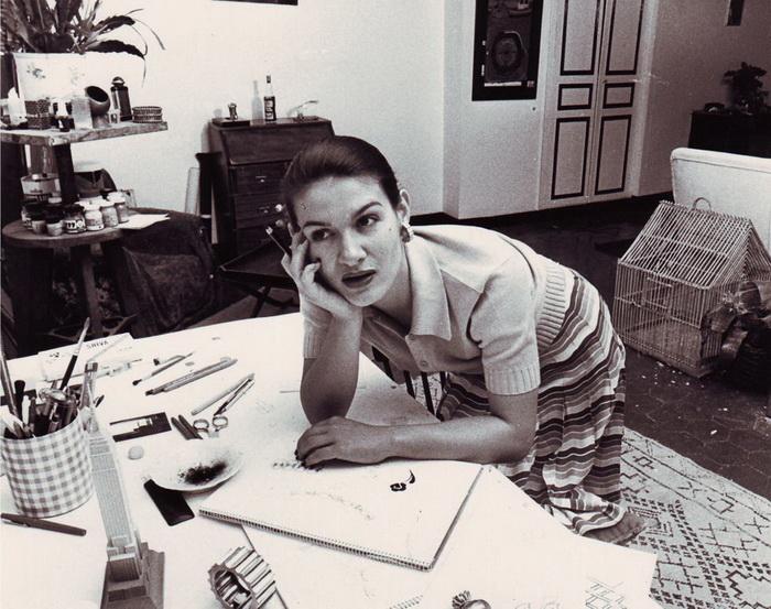 Палома Пикассо в рабочем кабинетею Фото: Tiffany.ru