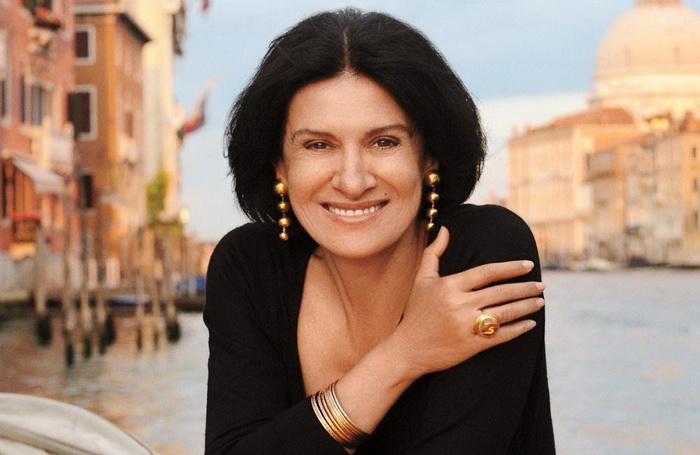 Палома Пикассо - дизайнер и модельер. Фото сделано в Венеции. Фото: Tiffany.ru