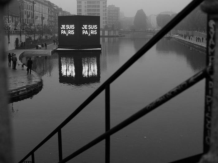 Je suis Paris: арт-проекты в поддержку Франции