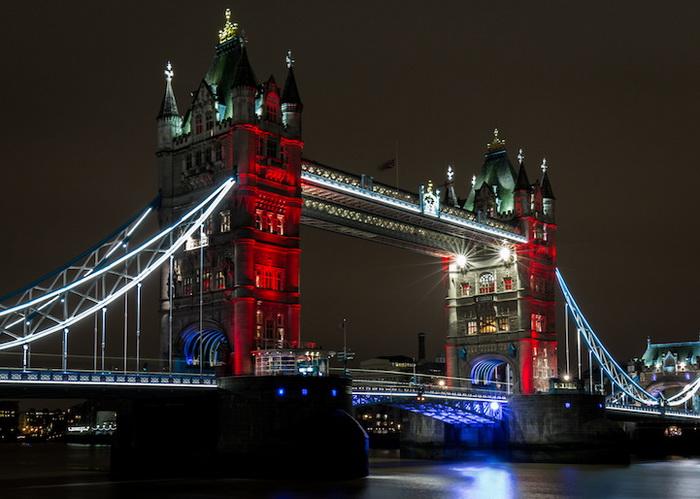 Тауэрский мост, Лондон, Англия