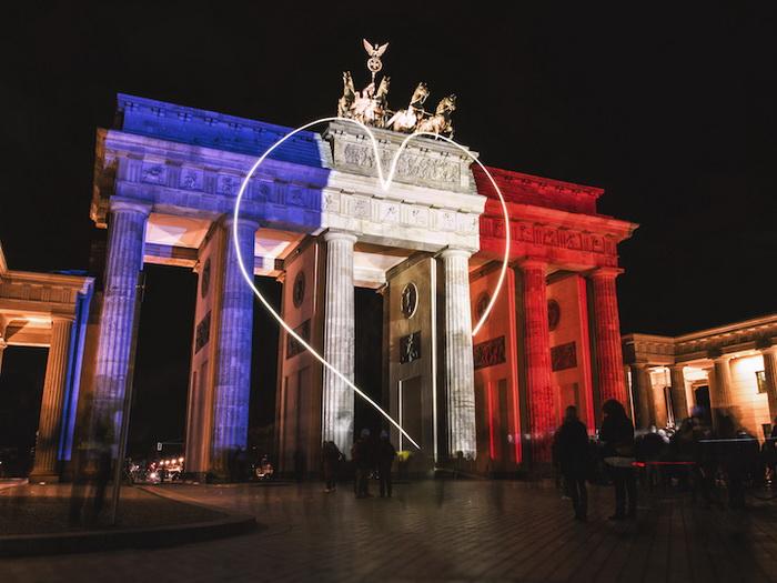 Бранденбургские ворота, Берлин, Германия