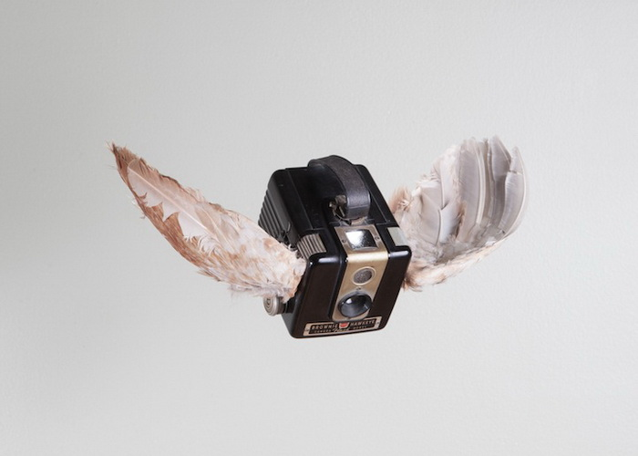 Birds of Aperture: летающие фотоаппараты от Пола Октавиуса
