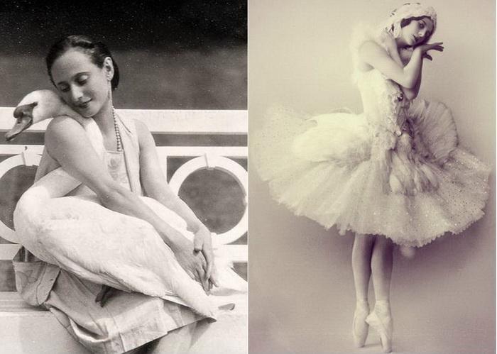 Гениальная русская балерина Анна Павлова