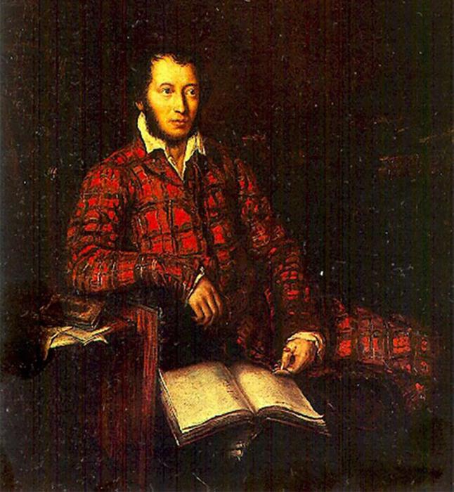 Карл Мазер, Посмертный портрет Пушкина