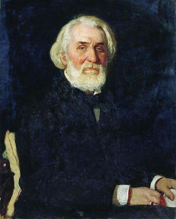 И.Репин. Портрет И.С.Тургенева, 1879