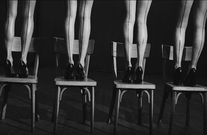 Фотография в память о танцовщице и хореографе Пине Бауш