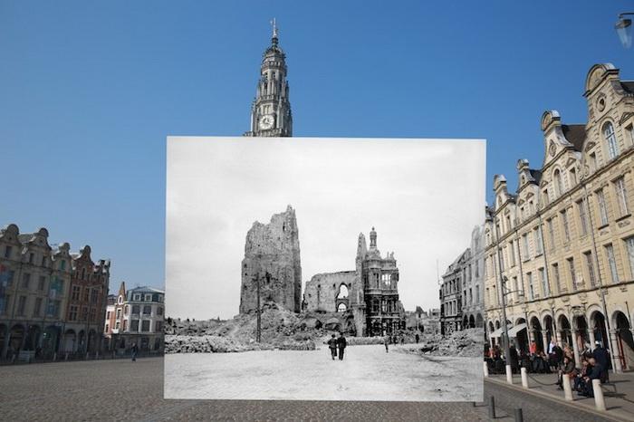 Цикл фотоколлажей в память о трагических событиях Первой мировой войны