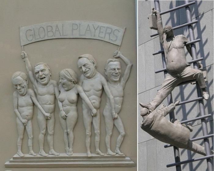 Скульптуры Петера Ленка