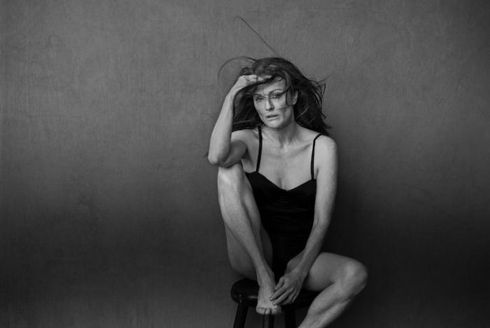 Календарь Pirelli-2017. Портрет Джулианны Мур. Фотограф: Питер Линдберг