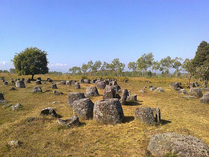 Древние кувшины разбросаны на 60 отдельных площадках