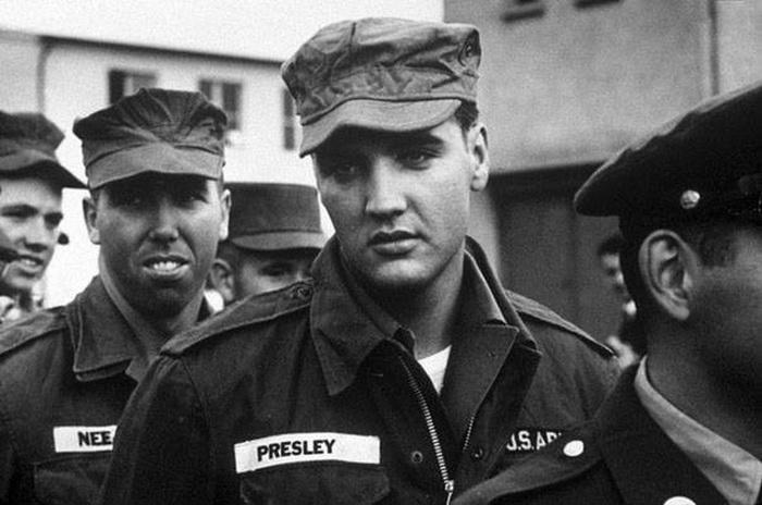 Армейские будни Элвиса Пресли.