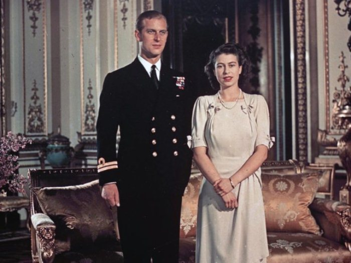 Принцесса Елизавета и принц Филипп объявили о помолвке в 1947 году.