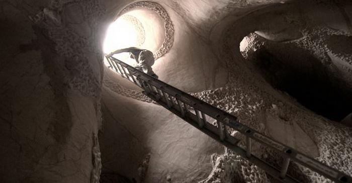 Рукотворные пещеры от скульптора Ра Паулет (Ra Paulette)