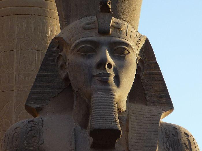 Египетский фараон Рамсес II.