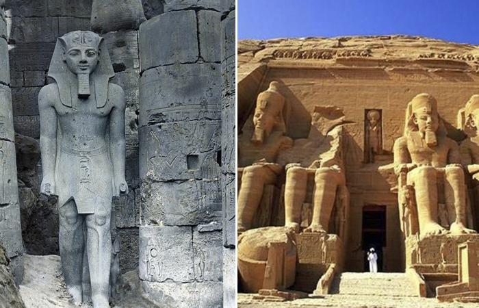 Рамсес II - великий египетский фараон.