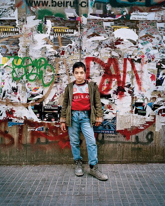 Портрет Мохаммеда, 12 лет. Бейрут, 2016 год