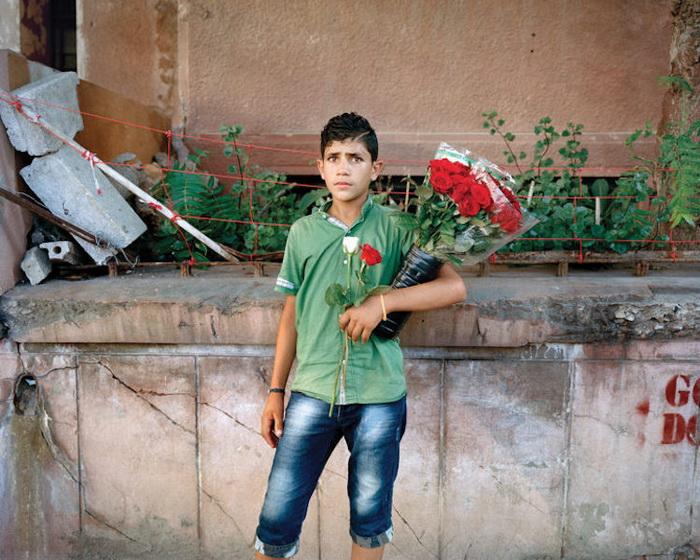 Портрет Хассана, 15 лет, Бейрут, 2014 год