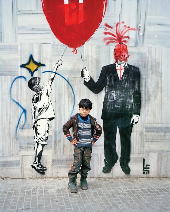 Портрет Тамера, 6 лет, Бейрут, 2015 год