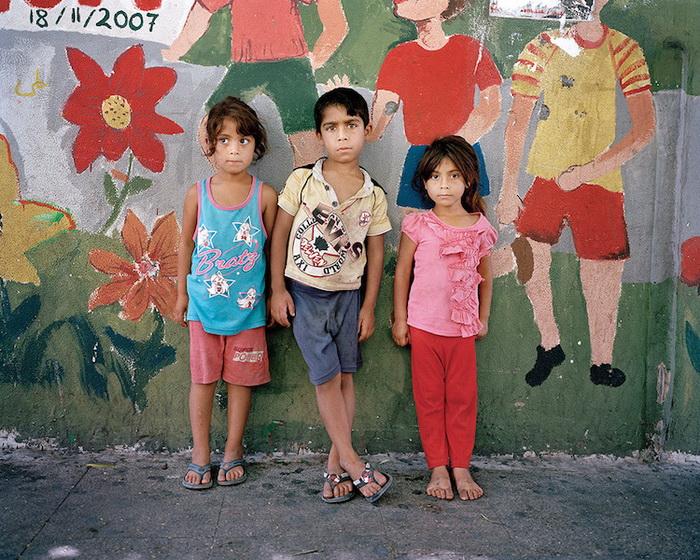 Дети беженцев, Бейрут, 2014 год