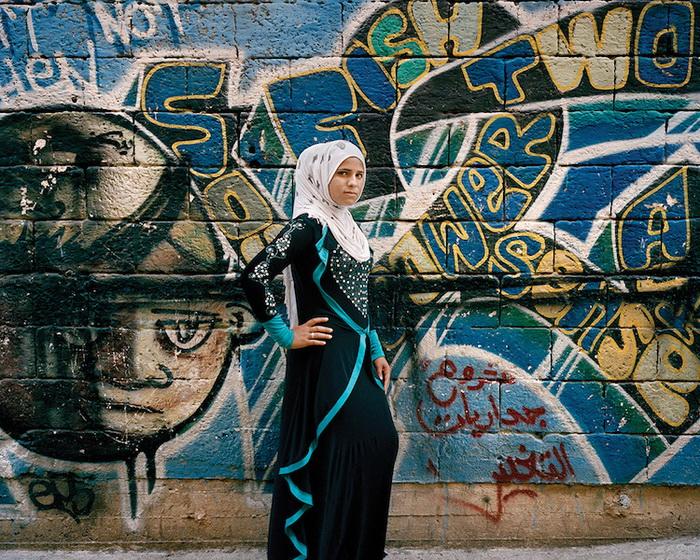 Портрет Байан, 16 лет, Бейрут, 2015 год