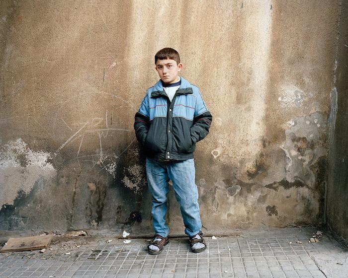 Портрет Малека, 11 лет, Бейрут, 2015 год