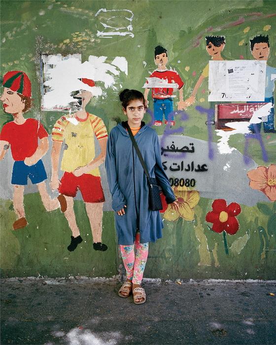 Портрет Буддоры, 13 лет, Бейрут, 2015 год