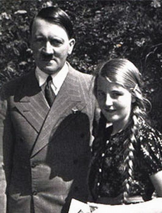 Адольф Гитлер и Гели Раубаль
