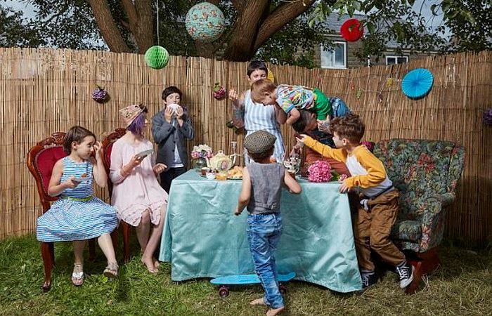 Счастливые дети нестандартных родителей.