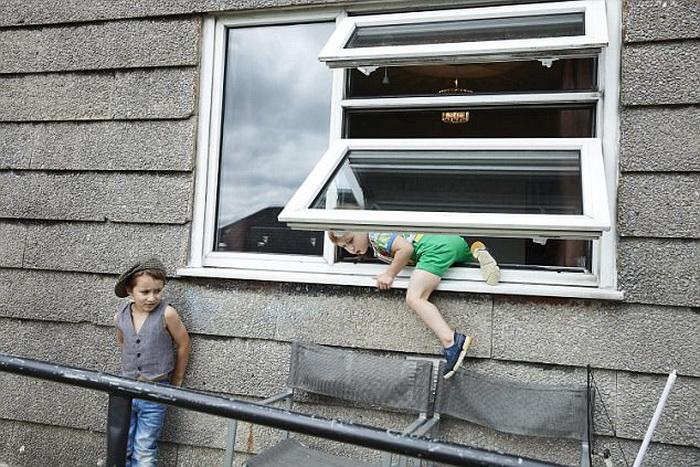 Детям в этой семье ничего не запрещают.