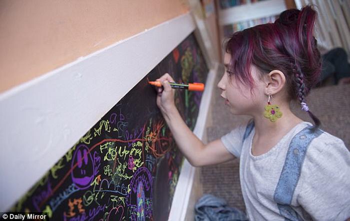 Дети в этой семье - творческие натуры.