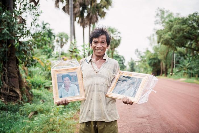 Мое первое селфи: Фотопроект для жителей Камбоджи.