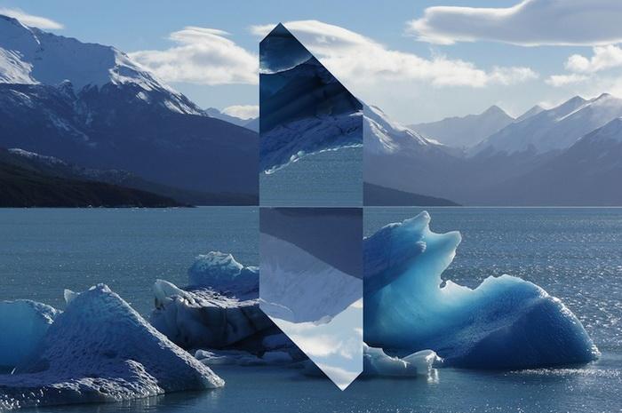 Монолитный пейзаж: серия фотоэкспериментов от Рейнальда Друхина (Reynald Drouhin)