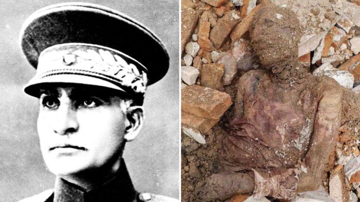 Предположительно мумифицированные останки могут принадлежать Резе Пехлеви.