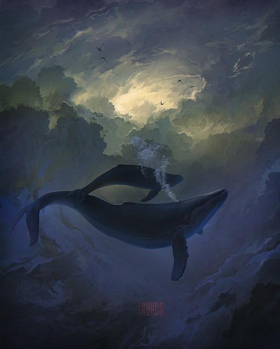 Сюрреалистические рисунки Артема Чебохи