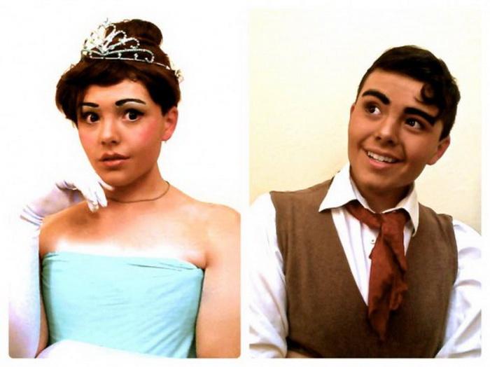 Образы диснеевских принцев и принцесс в исполнении Ричарда Шафера