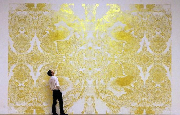 Золотая фреска от Ричарда Райта