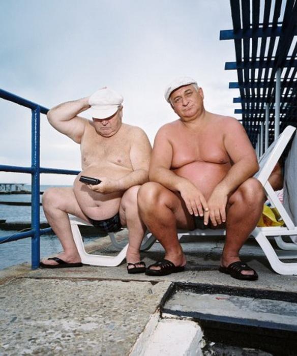Курортники на отдыхе в Сочи