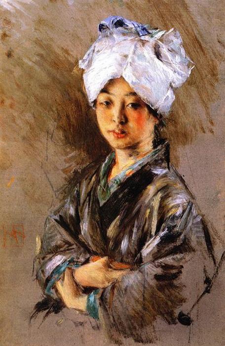 Токио конца 19 века на картинах Роберта Фредерика Блюма