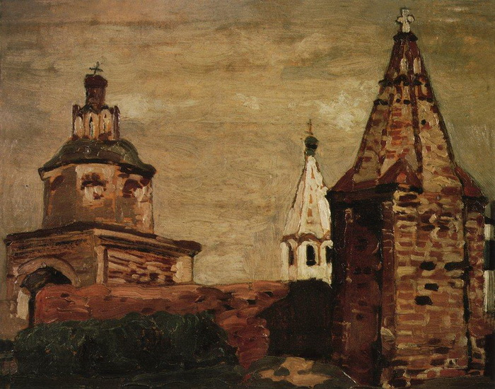 Суздаль. Монастырь Александра Невского, Николай Рерих