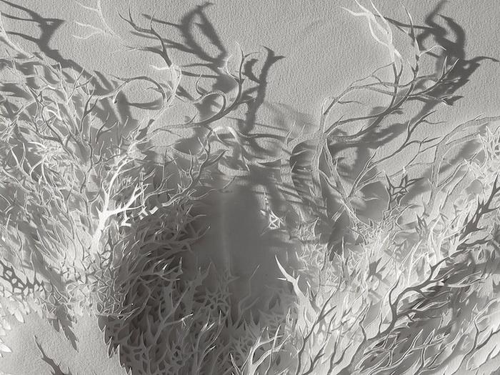 Бумажные скульптуры. Серия работ Рогана Брауна (Rogan Brown)