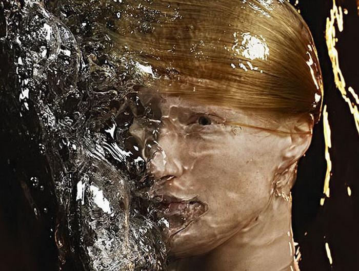 Проект H2O от французского фотографа Romain Laurent
