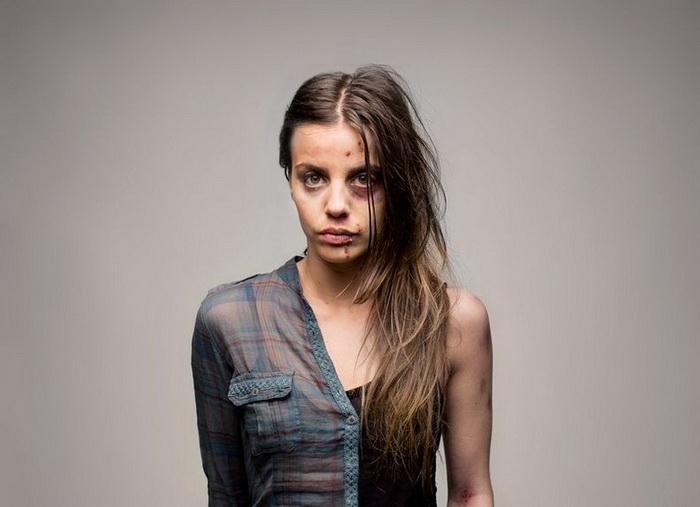 *Half* - социальный проект о вреде наркотиков лондонского фотографа Романа Саковича