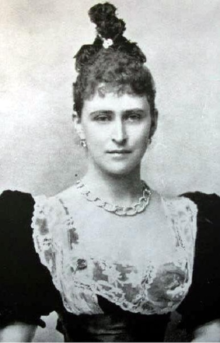 Портрет Елизаветы Фёдоровны Романовой