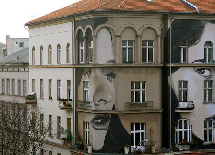 Граффити от уличного художника Rone