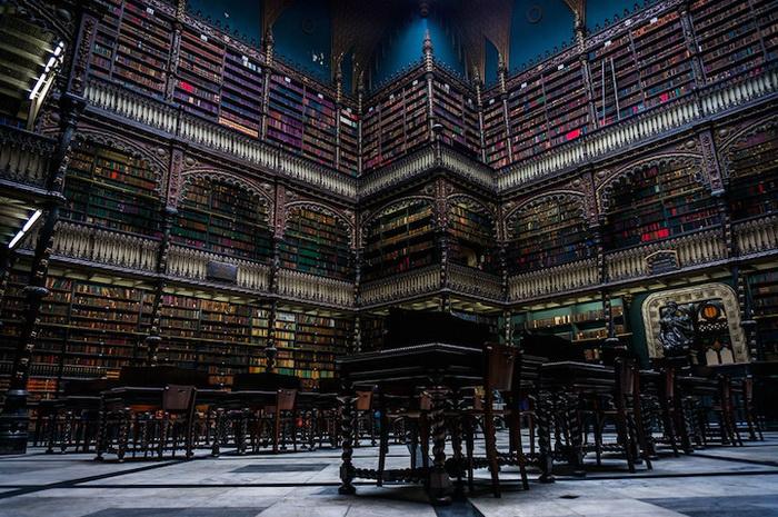 Португальская библиотека в Рио-де-Жанейро