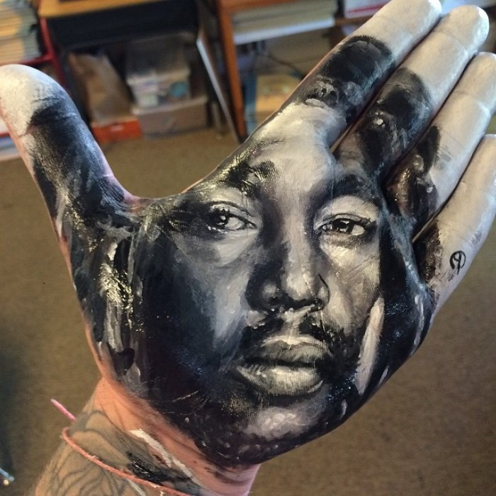 Портрет с эффектом 3D-объема